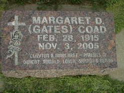Margaret Deloris <i>Gates</i> Coad