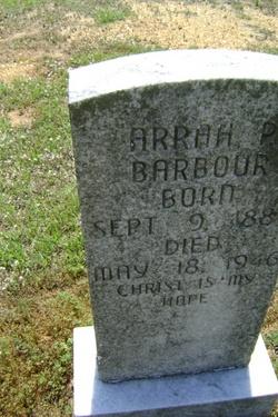 Arrah <i>Parrish</i> Barbour
