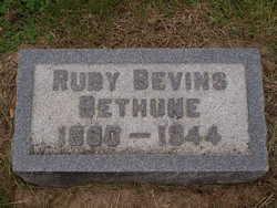 Ruby <i>Bevins</i> Bethune