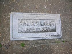 Mrs Martha Jane <i>Fuller</i> Laney