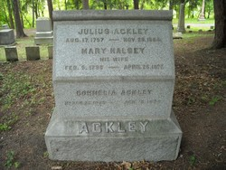 Mary <i>Halsey</i> Ackley