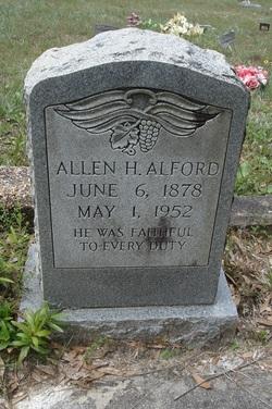Allen H Alford