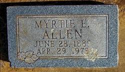 Myrta Elmer Myrtie <i>Rogers</i> Allen