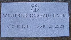 Winifred I <i>Cloyd</i> Bahm