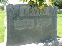 Mary A Mollie <i>Dykes</i> Ervin