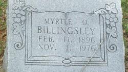 Myrtle O. Billingsley