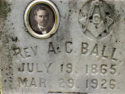 Rev Alonzo Calhoun Ball