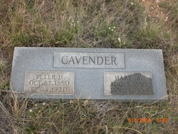 Mary A Cavender