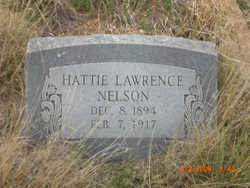 Hattie Lawrence Nelson