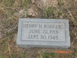 Henry H Rodgers