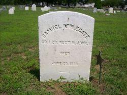 Pvt Samuel Applegate