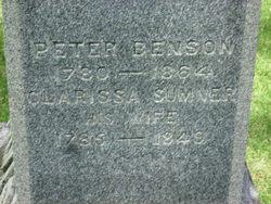Clarissa <i>Sumner</i> Benson