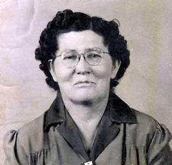 Mary Magdeline Mollie <i>Thomas</i> Baccus