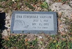 Ena <i>Etheridge</i> Varnam