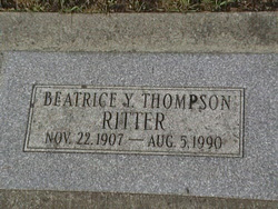Beatrice Y. <i>Thompson</i> Ritter