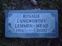 Rosalie Langworthy