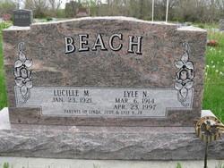 Lucille M. <i>Stedman</i> Beach
