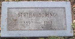Bertha Frankie Boring