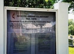 Senate Grove Cemetery
