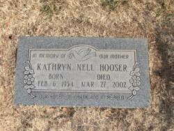 Kathryn Nell Kathy <i>Austin</i> Hooser