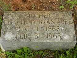 Lou Ella Ella <i>Hildebran</i> Abee