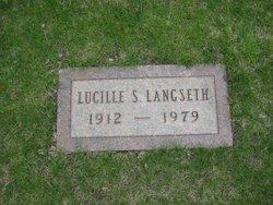 Lucille <i>Seidl</i> Langseth