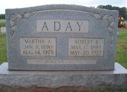 Martha Ann <i>Ledlow</i> Aday