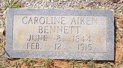 Caroline <i>Aiken</i> Bennett