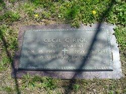 Cecil C Rice