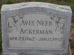 Avis <i>Neer</i> Ackerman