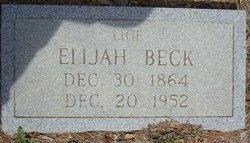 Elijah Lige Beck