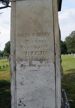 Mary S Avery