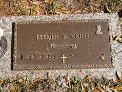 Esther <i>Bryan</i> Akins