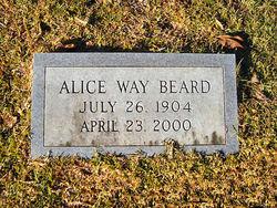 Alice <i>Way</i> Beard