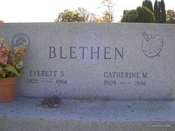 Catherine Margaret <i>Critch</i> Blethen