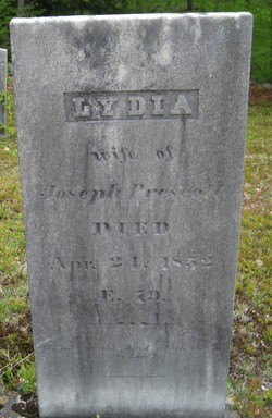 Lydia <i>Worthen</i> Prescott