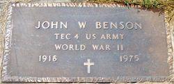 John W. Benson