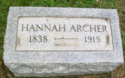Hannah <i>Stoneking</i> Archer