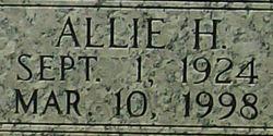 Allie <i>Hollifield</i> Biddix