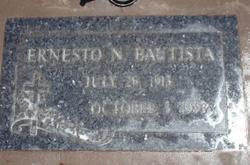 Ernesto Nebrija Bautista