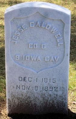 Pvt Jesse Caldwell