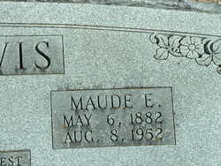 Maude E. <i>Andrews</i> Lewis