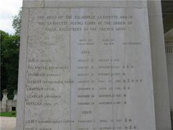 Lafayette Escadrille Memorial