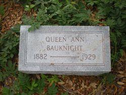 Queen Ann Bauknight