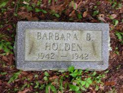 Barbara B Holden