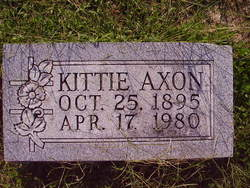 Kittie <i>Loomis</i> Axon