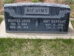 Amy Alvina <i>Durrant</i> Richins
