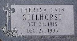 Theresa <i>Cain</i> Seelhorst