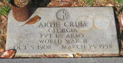 Pvt. Artie Crum
