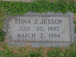 Edna J <i>Thomas</i> Jessop